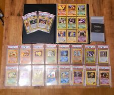 PSA Complete Gym Challenge Full Collection 1st Edition Pokemon MINT Charizard