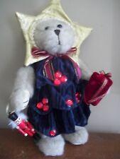 "14 "" CHRISTMAS TREE nutcracker  TEDDY cherish nova  plush COSTUME BEAR"