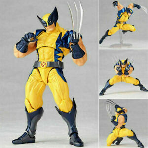 Kaiyodo Revoltech Amazing Yamaguchi Wolverine Action Figure X-Men Toy New No Box