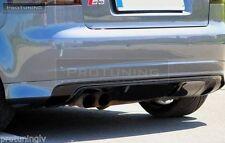 Audi A3 8p 03-12 Parachoques Trasero Spoiler S Line Lip cenefa addon S-line Abt Rs3 S3
