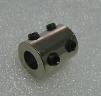 Bore 5*5mm Motor Rigid Coupling with Black Top Screws