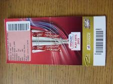27/05/2013 BIGLIETTO: play-off CAMPIONATO finale-Watford o Leicester City V CRY