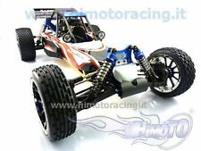 BUGGY RAPTOR 5XB MOTORE A SCOPPIO DA 30CC E RADIO 2.4ghz 4WD SCALA 1:5 HIMOTO