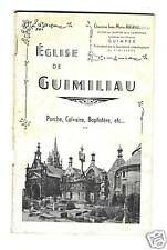 BRETAGNE FINISTERE EGLISE DE GUIMILIAU 1939 ILLUS. ARCHITECTURE ARCHEOLOGIE