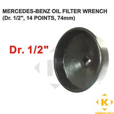Mercedes Benz Oil Filter Wrench 14 flats 74mm (Fits Toyota and Mazda models)