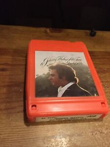 Johnny Mathis All- Time Greatest Hits 1972 CBS Records 8 Track Tape