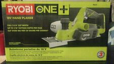 RYOBI P611 18-Volt ONE+ Cordless 3-1/4 in. Hand Planer (Tool Only, New in Box)