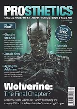 PROSTHETICS Magazine #7: Make-Up Effects LOGAN Wolverine WETA Ghost in the Shell