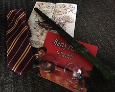 Unlicensed Harry Potter Kit Book week- Wand, Glasses Tie and Map FREE SHIPPING!