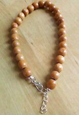 Brown Wooden Bead Anklet/Ankle Bracelet