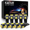 10x Canbus T10 Car Bulbs 6 SMD 5630 LED Xenon W5W 501 194 175 Side Light White