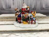 Department 56 Snow Village Santa Comes To Town Holiday Xmas Decor 1995
