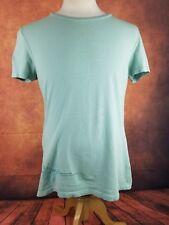 Women's Arc'teryx T-Shirt (XL) Sage Green Organic Cotton w/Emblem Made in USA