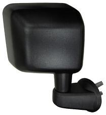 BRAND NEW JEEP WRANGLER JK WING MIRROR 55077968AD RH MANUAL BLACK DOOR MIRROR