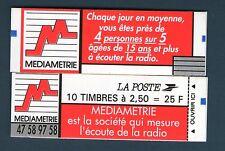 CARNET N° 2720-C3 NEUF * * LUXE - CARNET MEDIAMETRIE