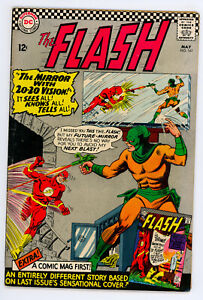 JERRY WEIST ESTATE: THE FLASH #161 (DC 1966) FN condition NO RES