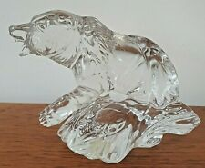 More details for collectable princess house 24% lead crystal wonders of the wild grizzly bear