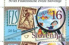 STAMP ON STAMP SLOVENIA 1999