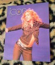 """Madonna """"icon"""" official fan club magazine no 28 From 1998 Very Rare Queen Of Pop"""