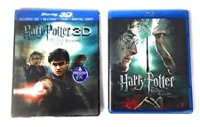 Harry Potter And The Deathly Hallows Part 2 Blue-ray 3D DVD