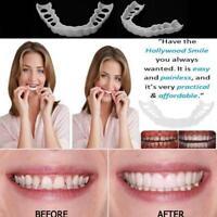 Sourire parfait adulte réutilisable Flex placages dents couverture prothèse