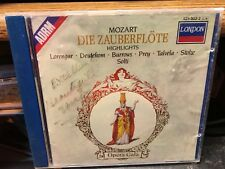 CD :  MOZART: DIE ZAUBERFLOTE HIGHLIGHTS  ADRM LORENGAR DEUTEKOM BURROWS