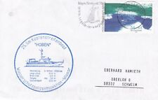 GERMAN CUSTOMS BOAT MS HOBEN A SHIPS CACHED COVER