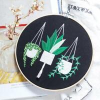 DIY 3D Embroidery For Beginner Needlework Kit Cross Crafts Arts Handmade H3R3