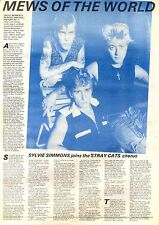28/11/1981Pg25 Article & Picture, The Stray Cats