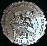 2013 Australian Centenary of Australian Stamps 50cent  Specimen Quality UNC