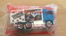 1991 Hot Wheels Cocoa Puffs Reeses Count Chochula Cookie Crisp Truck  - NIP