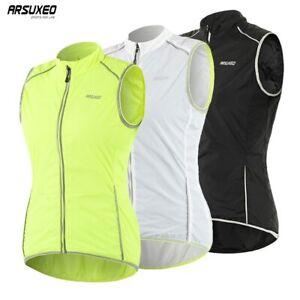 Women Cycling Vest Windproof Sleeveless Outdoor Sportswear Bike Bicycle Jersey