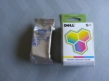 Dell 5XL Color Ink Cartridge M4646 - Factory Sealed Box - 2 Total