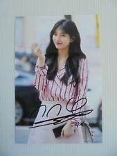 Suzy Bae Miss A 4x6 Photo Korean Actress KPOP autograph signed USA Seller SALE 2