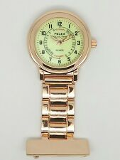 nurse beauticians fob watch rose gold F106