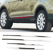 For Ford Escape Kuga 2013-18 Chrome Door Side Line Body Molding Trim Cover Strip