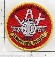 California - Los Angeles Airport ARFF CA Fire Dept Patch v1 Crash Fire Rescue