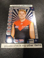 2015 AFL TEAMCOACH SILVER UNUSED CODE CARD NO.155 JACK WATTS MELBOURNE