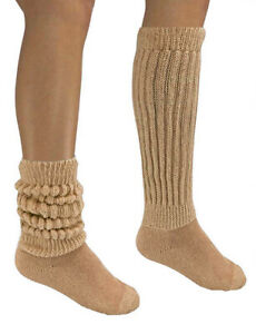 Hooters Uniform Long & Sexy Slouch Knee Socks Halloween Costume Pic Color One Sz