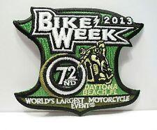 2013 Official Daytona Bike Week Event Patch *New*