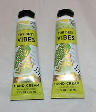 Bath & Body Works The Best Vibes Coconut Vanilla Hand Cream w/ Shea Butter X 2