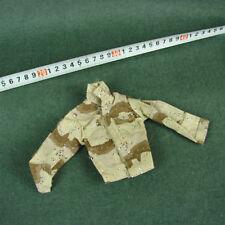 "1/6 Scale Desert Camouflage Solider Combat Uniform Coat For 12"" Action Figure"