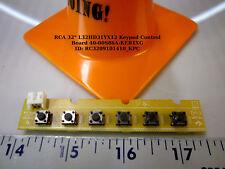 "RCA 32"" L32HD31YX12 Keypad Control Board 40-00S86A-KEB1XG"