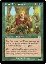VOICE OF THE WOODS Onslaught MTG Green Creature — Elf RARE