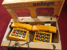 Vtg Telefonanlage Prefo Toy Telephone Set IN BOX UNTESTED 30 DAY GUARANTEE