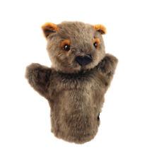 Wombat Hand Puppet 25cm soft stuffed plush toy NEW