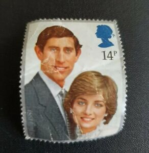 14p Charles And Diana Wedding Commemorative Stamp