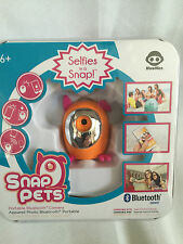WowWee Snap Pets Portable Mini Bluetooth Camera - Orange/Pink