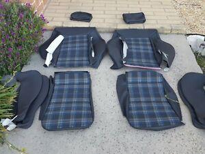 RECARO VOLKSWAGEN CABRIOLET 16 VALVE UPHOLSTERY SEAT KIT  BEAUTIFUL PRE 92 NEW