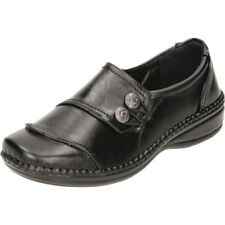 Cushion Walk Synthetic Leather Casual Flats for Women